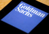 © Reuters. The logo of Goldman Sachs is displayed in their office located in Sydney