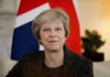 © Reuters.  British PM May says UK ready to join trans-Pacific trade pact