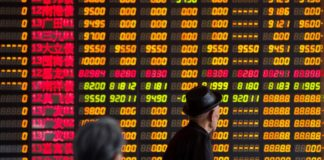 © Reuters.  China stocks higher at close of trade; Shanghai Composite up 1.02%