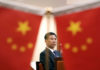 © Reuters. Chinese Finance Minister Liu Kun attends an interview with Reuters at the Ministry of Finance in Beijing