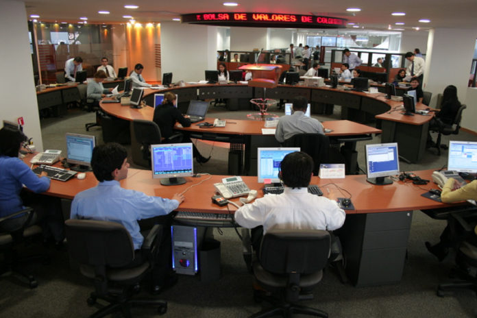 Colombia stocks lower at close of trade; COLCAP down 0.61%