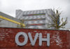 © Reuters. FILE PHOTO: The logo of French web-hosting and server provider OVH is seen at the company