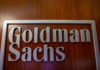 © Reuters. The Goldman Sachs company logo is seen in the company