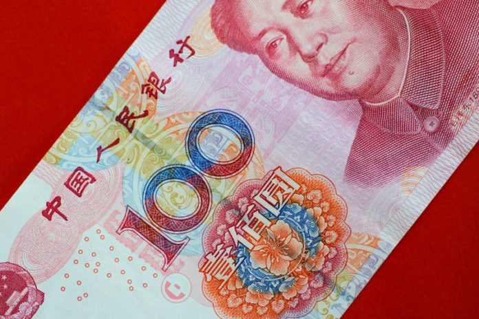 © Reuters. Illustration photo of a China yuan note