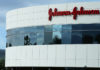 © Reuters. FILE PHOTO: A Johnson & Johnson building is shown in Irvine, California
