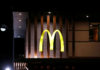 © Reuters. The logo of a McDonald