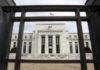 © Reuters. FILE PHOTO: The Federal Reserve building is pictured in Washington, DC