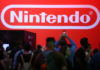 © Reuters. The Nintendo booth is shown at the E3 2017 Electronic Entertainment Expo in Los Angeles