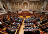 © Reuters. A view of the Portuguese Parliament during a debate on 2019 state budget at the parliament in Lisbon