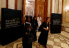 © Reuters. FILE PHOTO: Participants walk during the Future Investment Initiative conference in Riyadh