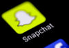 © Reuters. FILE PHOTO: The Snapchat messaging application is seen on a phone screen