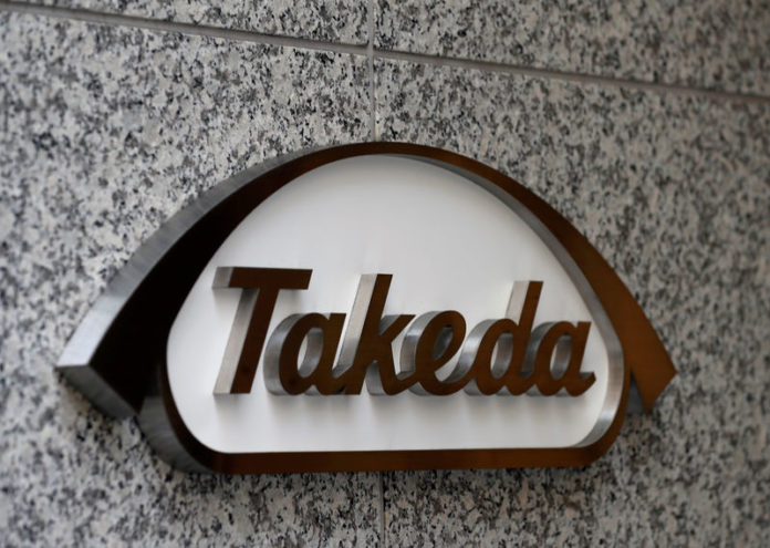 © Reuters. FILE PHOTO: Takeda Pharmaceutical Co