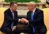 © Reuters. U.S. President Trump welcomes Pastor Brunson home from Turkish detention