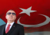 © Reuters. FILE PHOTO: Turkish President Erdogan attends a millitary ceremony in Isparta