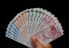 © Reuters. FILE PHOTO: Turkish lira banknotes are seen in this picture illustration in Istanbul