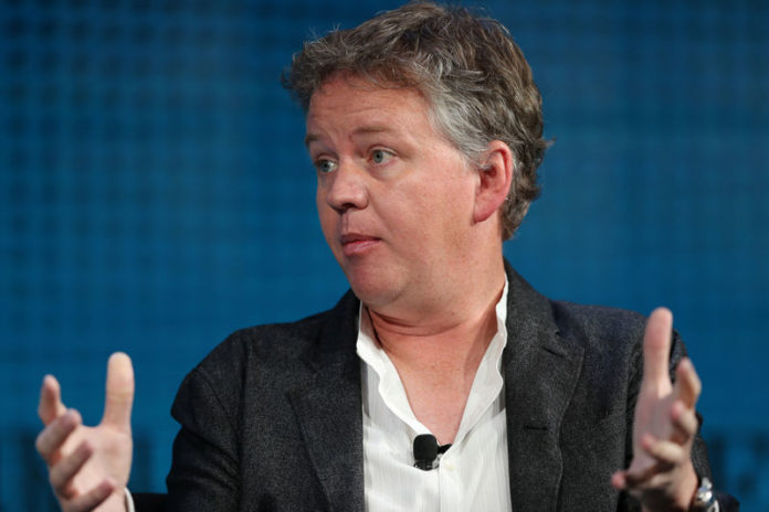 © Reuters. Co-founder and CEO of CloudFlare Prince speaks at the Wall Street Journal Digital conference in Laguna Beach