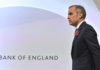 © Reuters. FILE PHOTO: Bank of England Governor Mark Carney attends a Bank of England news conference, in the City of London