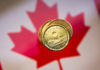 © Reuters. FILE PHOTO: FILE PHOTO: A Canadian dollar coin commonly known as the