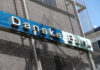 © Reuters. FILE PHOTO: Danske Bank sign is seen at the bank