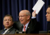 © Reuters. Transportation and Infrastructure House Commitee member DeFazio, speaks at U.S. airline customer service hearing at the U.S. Capitol in Washington