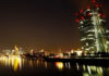 © Reuters. The skyline with its financial district is photographed on early evening in Frankfurt
