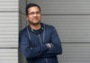 © Reuters. FILE PHOTO - Bansal, Group CEO of Flipkart, poses at the company