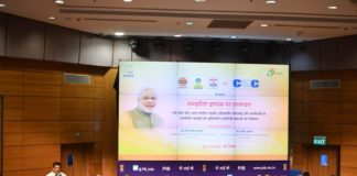 The government, in August this year,achieved the target of distributing 5 crore partially-free LPG gas connections poor families, eight months ahead of the target.