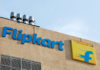 © Reuters. The logo of Flipkart is seen on the company