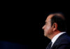 © Reuters. FILE PHOTO: Carlos Ghosn, chairman and CEO of the Renault-Nissan-Mitsubishi Alliance, attends the Tomorrow In Motion event on the eve of press day at the Paris Auto Show, in Paris