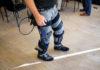 © Reuters. Exoskeleton Demonstration by Lockheed Martin