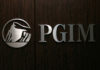 © Reuters. FILE PHOTO - The logo of PGIM is seen at the entrance of the compan