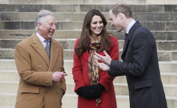 Prince Charles, Kate Middleton and Prince Harry