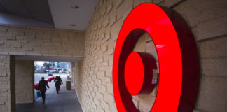 © Reuters. A Target logo is seen outside one of its stores in Burnaby