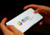 © Reuters. FILE PHOTO: Illustration picture of Tencent Games logo on a mobile phone