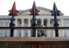 © Reuters. FILE PHOTO: A sign marks the U.S Treasury Department in Washington