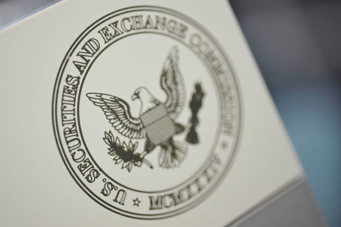 © Reuters. FILE PHOTO: The U.S. Securities and Exchange Commission logo
