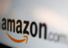 © Reuters. FILE PHOTO - The Amazon logo is pictured in this illustration photo