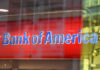 © Reuters. FILE PHOTO:  A Bank of America logo is seen in New York City