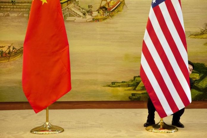 © Reuters.  China says it held second vice ministerial call with U.S. on trade