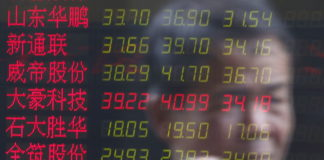 © Reuters.  China stocks higher at close of trade; Shanghai Composite up 2.57%