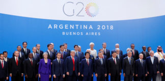 © Reuters. G20 leaders summit in Buenos Aires