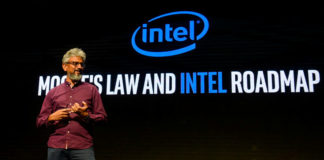 © Reuters. Raja Koduri, senior vice president of the Core and Visual Computing Group at Intel Corporation in Santa Clara, California