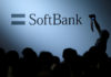 © Reuters. FILE PHOTO: The logo of SoftBank Group Corp is displayed at SoftBank World 2017 conference in Tokyo