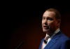 © Reuters. Jeffrey Gundlach, Chief Executive Officer, DoubleLine Capital, speaks at the Sohn Investment Conference in New York