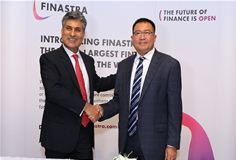 (Left) Anoop Sonpar, Regional Director at Finastra seals the deal with (Right) Mr Win Lwin, Managing Director at KBZ Bank