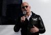 Amazon founder Jeff Bezos addresses the mediaat the Space Symposium in Colorado Springs, Colorado in April 2017.