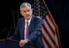 © Reuters. FILE PHOTO:    U.S. Federal Reserve Chairman Jerome Powell holds a news conference