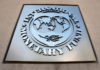 © Reuters. International Monetary Fund logo is seen outside the headquarters building