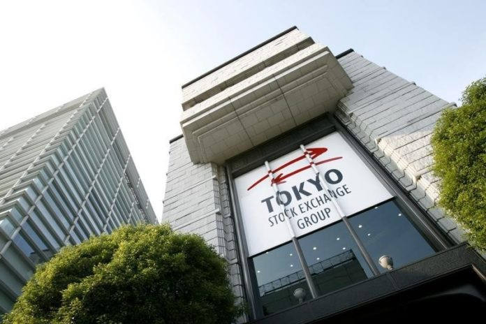 © Reuters.  Japan stocks lower at close of trade; Nikkei 225 down 3.86%