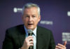 © Reuters. French Economy Minister Bruno Le Maire attends the 2018 Women
